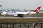 Turkish Airlines (300h Aircraft Livery), TC-LNC, Airbus A330-303 (25083818637).jpg