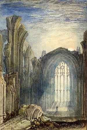 Turner-Melrose-Abbey