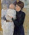 Twachtman母亲和Child.jpg的