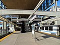 Two trains at Warm Springs South Fremont station, January 2020.JPG
