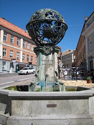 Astrid Aagesen - The Tycho Brahe monument in Helsingborg, globe by Astrid Aagesen