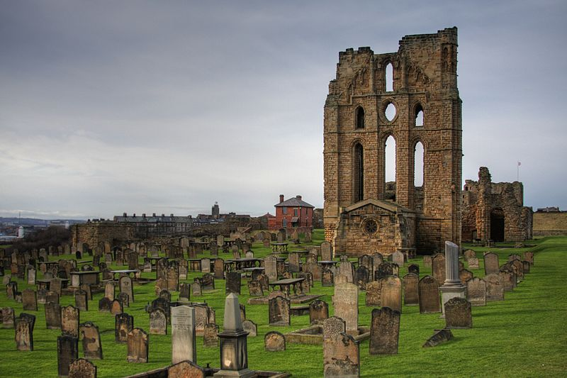 Tynemouth Priory and Castle in Whitley Bay