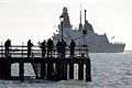 Type 45 Destroyer HMS Daring Leaves Portsmouth for First Operational Deployment MOD 45153523.jpg