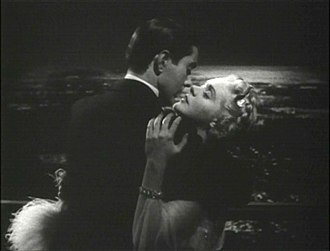Romance (love) - Tyrone Power passionately, lovingly, embraces Alice Faye in the 1938 film Alexander's Ragtime Band.