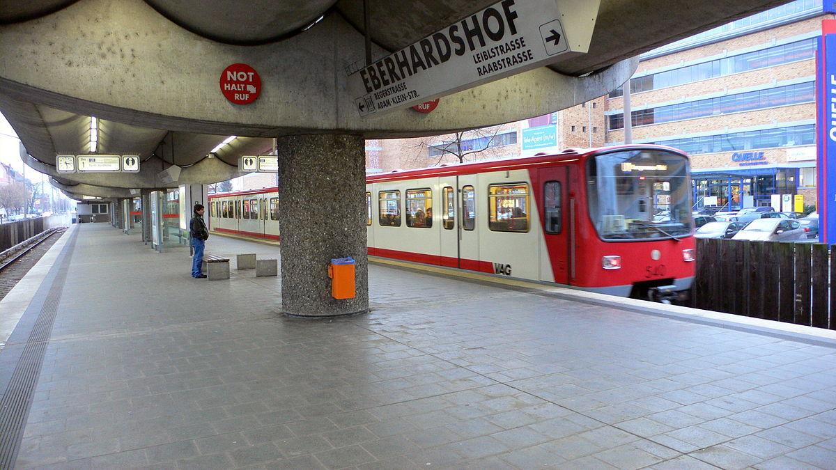 eberhardshof nuremberg u bahn wikipedia. Black Bedroom Furniture Sets. Home Design Ideas