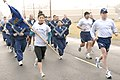U.S. Airmen with the 30th Medical Group run in formation during the Fit-to-Fight run at Vandenberg Air Force Base, Calif., April 3, 2008 080403-F-US220-186.jpg