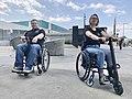 UNAwheel Mini Active and UNAwheel Mini Basic wheelchair power add-ons in Los Angeles 2.jpg
