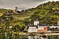UNESCO Welterbe 'Mittelrheintal' - Burg Pfalzgrafenstein und Gutenfels bei Kaub (8502788937).jpg