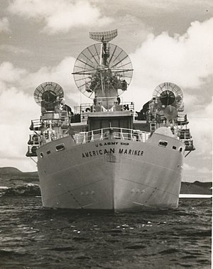 USAS American Mariner - Image: USAS American Mariner Clarence Bay Ascension 1962