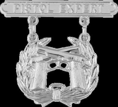 USMC Pistol Expert badge