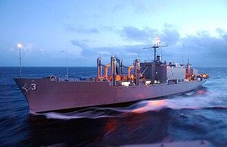 Mars-class combat stores ship - Image: USNS Niagara Falls (T AFS 3)