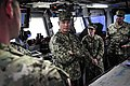USN Admiral James Loeblein tours the bridge of the USCGC Maui -COMUSNAVCENT 140129-N-IZ292-314.jpg