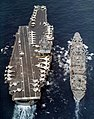 USS Enterprise (CVAN-65) and USS Hassayampa (AO-145) 1973.jpg