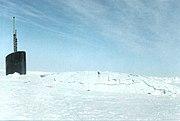 USS San Juan Through-Ice Surface