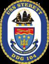USS Sterett DDG-104 Crest.png
