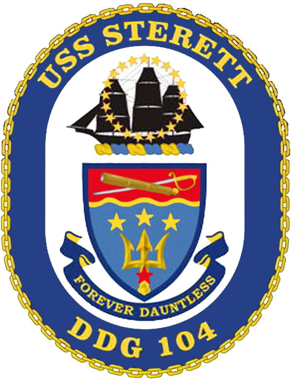 USS Sterett DDG-104 Crest