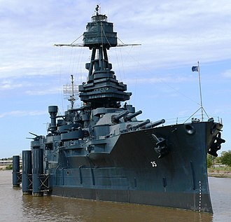 San Jacinto Battleground State Historic Site - Image: USS Texas BB 35