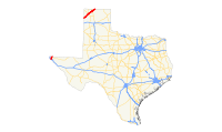 US 54 (TX) map.svg