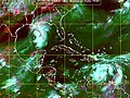 US Navy 050705-N-0000X-004 Satellite image showing low cloud, infrared and vapor reflections of three tropical storms.jpg