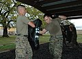 US Navy 070315-N-7427G-003 Two Marines spar during a green belt martial arts class hosted by the 3rd Marine Expeditionary Unit, 23rd Battalion.jpg