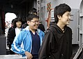 US Navy 080118-N-3285B-034 Students from Hasan, Korea, tour the guided-missile frigate USS De Wert (FFG 45 on board Naval Station Mayport during a five-day trip.jpg