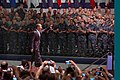 US Navy 100615-N-4482V-001 President Barack Obama is greeted by Sailors and Marines at the Naval Air Technical Training Center on board Naval Air Station Pensacola.jpg