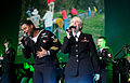 US Navy 101119-N-6138K-255 Musicians 2nd Class Kori Gillis and 3rd Class Emily Starnes, both members of the U.S. Naval Forces Europe Band,.jpg