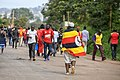 Uganda Soccer Fan with the Uganda Flag.jpg