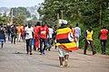 Uganda Soccer Fan with the Uganda Flag.jpg