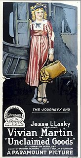 <i>Unclaimed Goods</i> 1918 film by Rollin S. Sturgeon