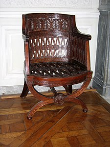 Etruscan Chair By Georges Jacob 1787 At The Pe Trianon Versailles