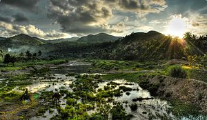 Nabas, Aklan - A mountain range in Nabas, part of Northwest Panay Peninsula Natural Park.