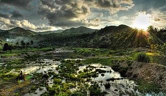 Nabas, Aklan - A mountain range in Nabas, part of Northwest Panay Peninsula Natural Park.