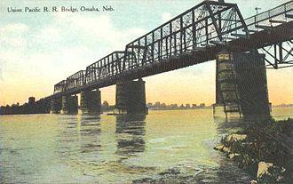George S. Morison (engineer) - Union Pacific R. R. Bridge (1887) between Omaha, Nebraska and Council Bluffs, Iowa