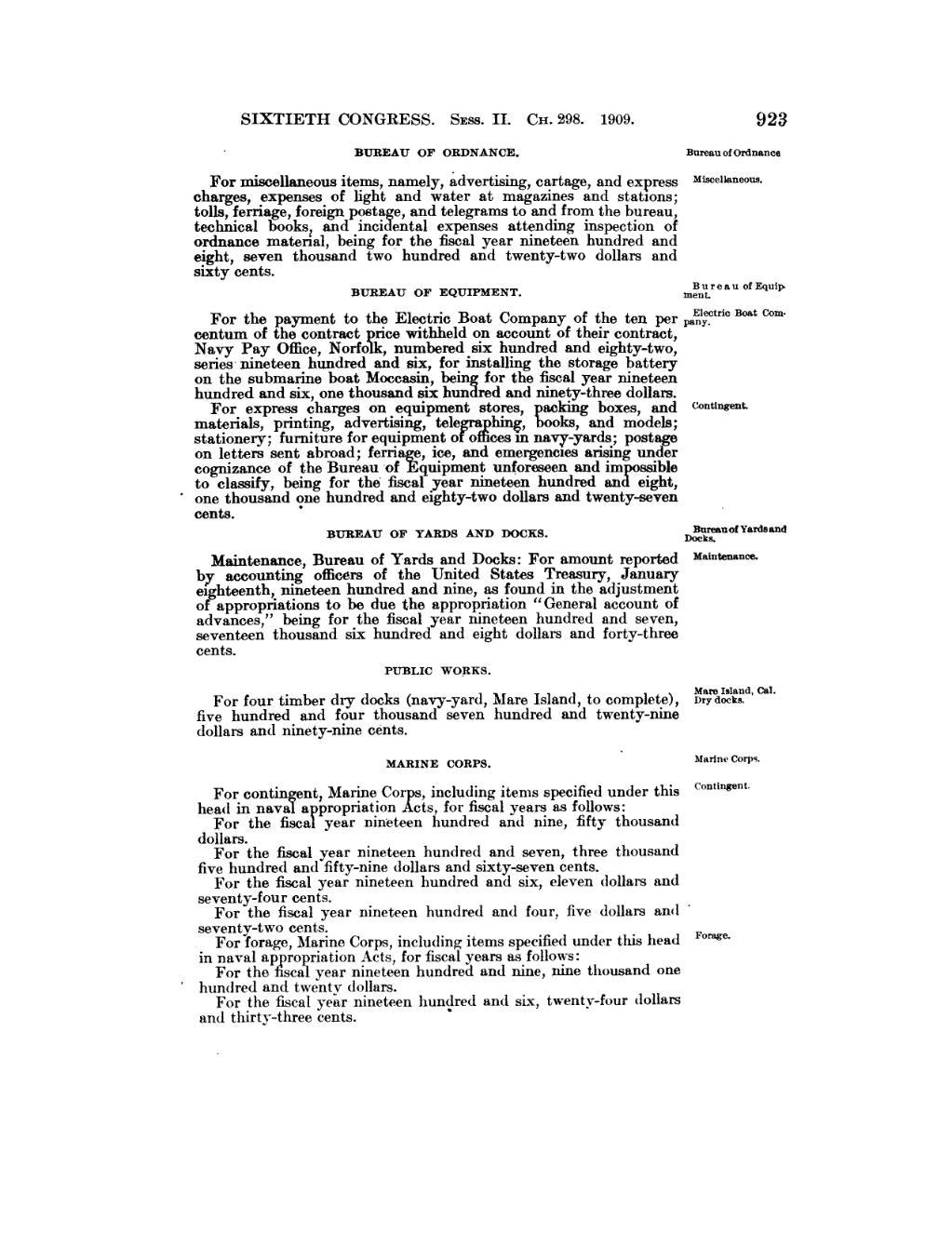 PageUnited States Statutes at Large Volume 35 Part 1djvu940