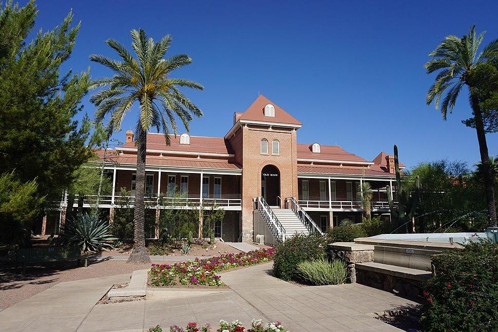 University of Arizona May 2019 09 (Old Main)
