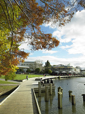 University of Waikato - One of three lakes on the University of Waikato's Hamilton campus.