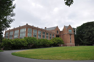 Allen Library, location of the Research Commons, University of Washington. Photo by Joe Mabel