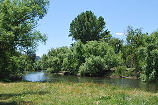 Kiewa River in Gundowring