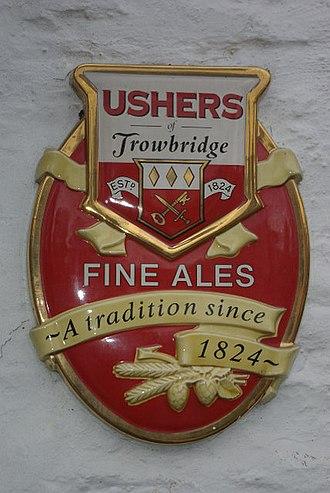 Ushers of Trowbridge - Image: Ushers Fine Ales geograph.org.uk 608499