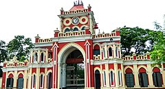 Uttra Ganababhon, Rajbari entrance from front.jpg