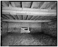 VIEW OF INTERIOR, GROUND FLOOR, LOOKING SOUTH - Rutherford Barn, East Hansel Road, Minooka, Grundy County, IL HABS ILL,32-MINK.V,1-3.tif