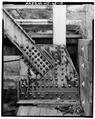 VIEW OF TRUSS SEATING OR SHOE, PANEL POINT A - Bridge No. 18, Spanning Kickapoo River, La Farge, Vernon County, WI HAER WIS,62-LAFA.V,1-10.tif