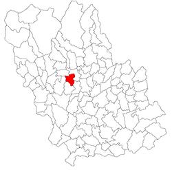 Vị trí của Vâlcănești