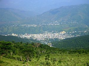Valera - Panorama View of Valera, from Sabana Hills