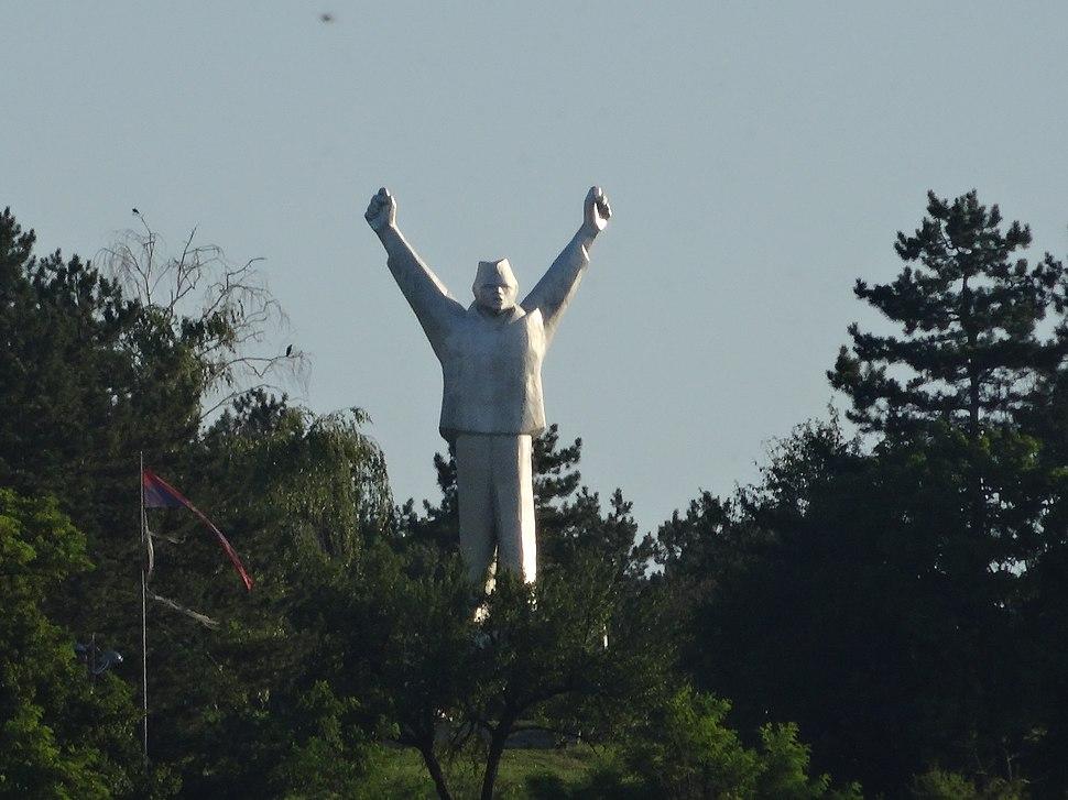 Valjevo, Spomenik borcima Revolucije, 01