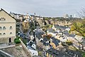 Valley of Alzette river in Luxembourg City 03.jpg