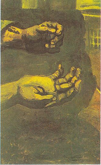Peasant Character Studies (Van Gogh series) - Two Hands, 1885, Private collection (F66)