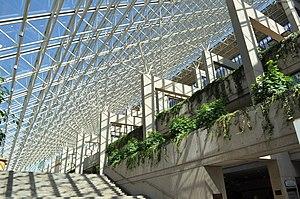 Law Courts (Vancouver) - Interior Atrium