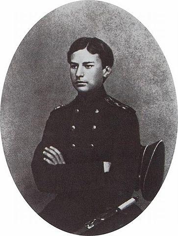В. Верещагин в период окончания Морского кадетского корпуса